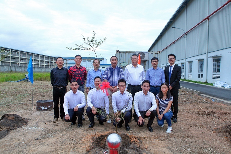 Grand Groundbreaking Ceremony of Second-phase Plant of Haitian Vietnam