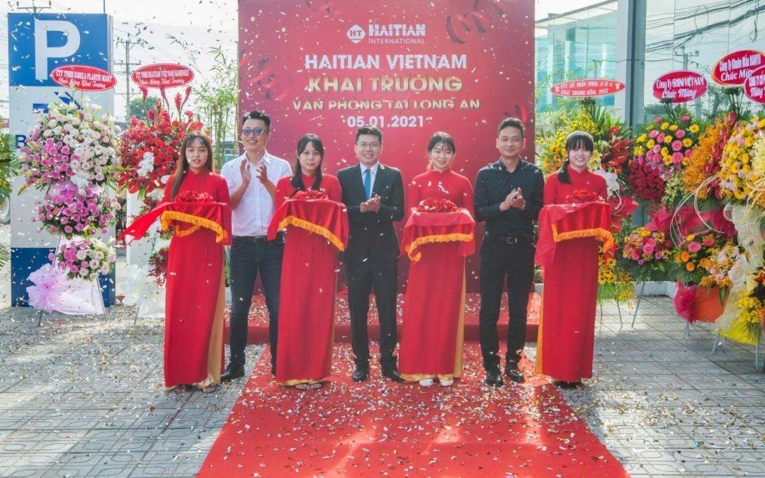 Haitian eröffnet Showroom  in Ho-Chi-Minh-Stadt